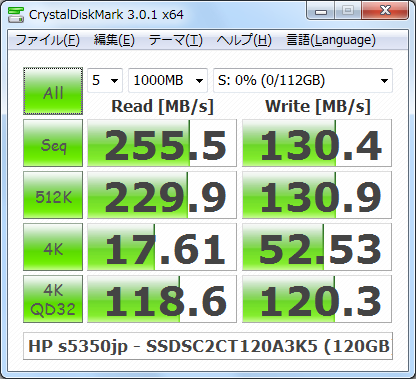 CDM301_s5350jp_Windows7_NTFS_Intel_SSDSC2CT120A3K5_120GB