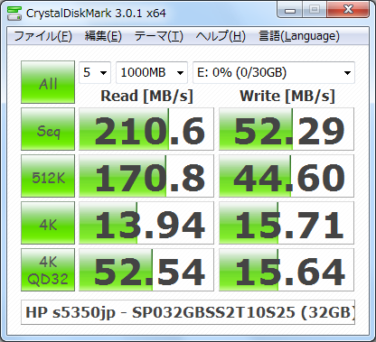 CDM301_s5350jp_Windows7_NTFS_SiliconPower_SP032GBSS2T10S25_32GB