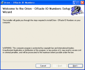 Oracle_ORION_Installation_on_Windows_01