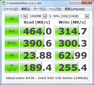 CrystalDiskMark_IdeaCentre-K430_Intel-SSD-530-Series-240GB_200GBfile