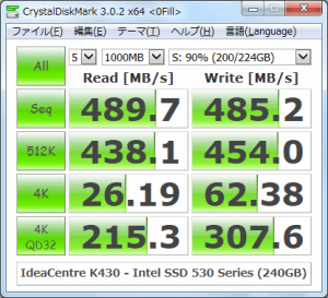 CrystalDiskMark_IdeaCentre-K430_Intel-SSD-530-Series-240GB_200GBfile_0Fill